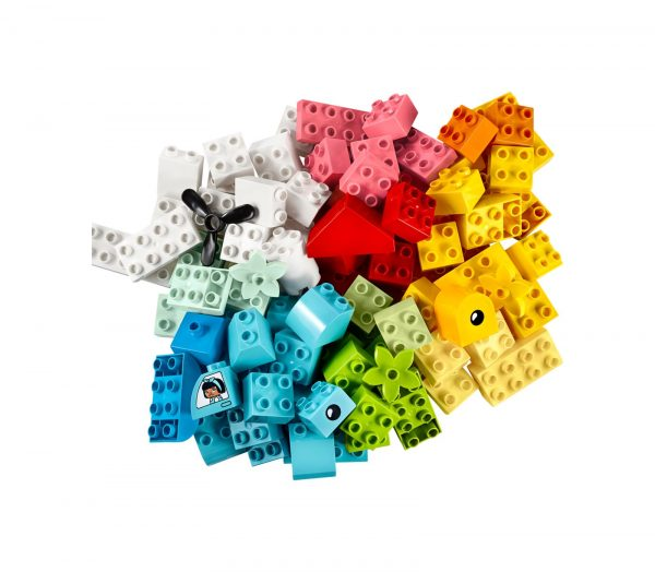 SCATOLA CUORE    LEGO DUPLO