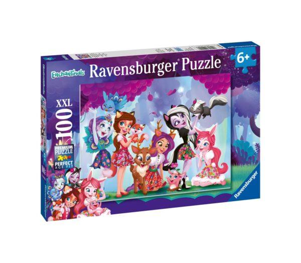 RAVENSBURGER - PUZZLE 100 PEZZI XXL - ENCHANTIMALS    Ravensburger1