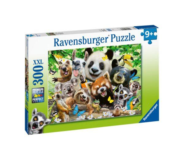 Ravensburger1  RAVENSBURGER - PUZZLE 300 PEZZI XXL - SELFIE SELVAGGIO