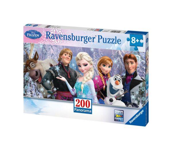 Ravensburger1  RAVENSBURGER - PUZZLE 200 PEZZI XXL - FROZEN PANORAMA