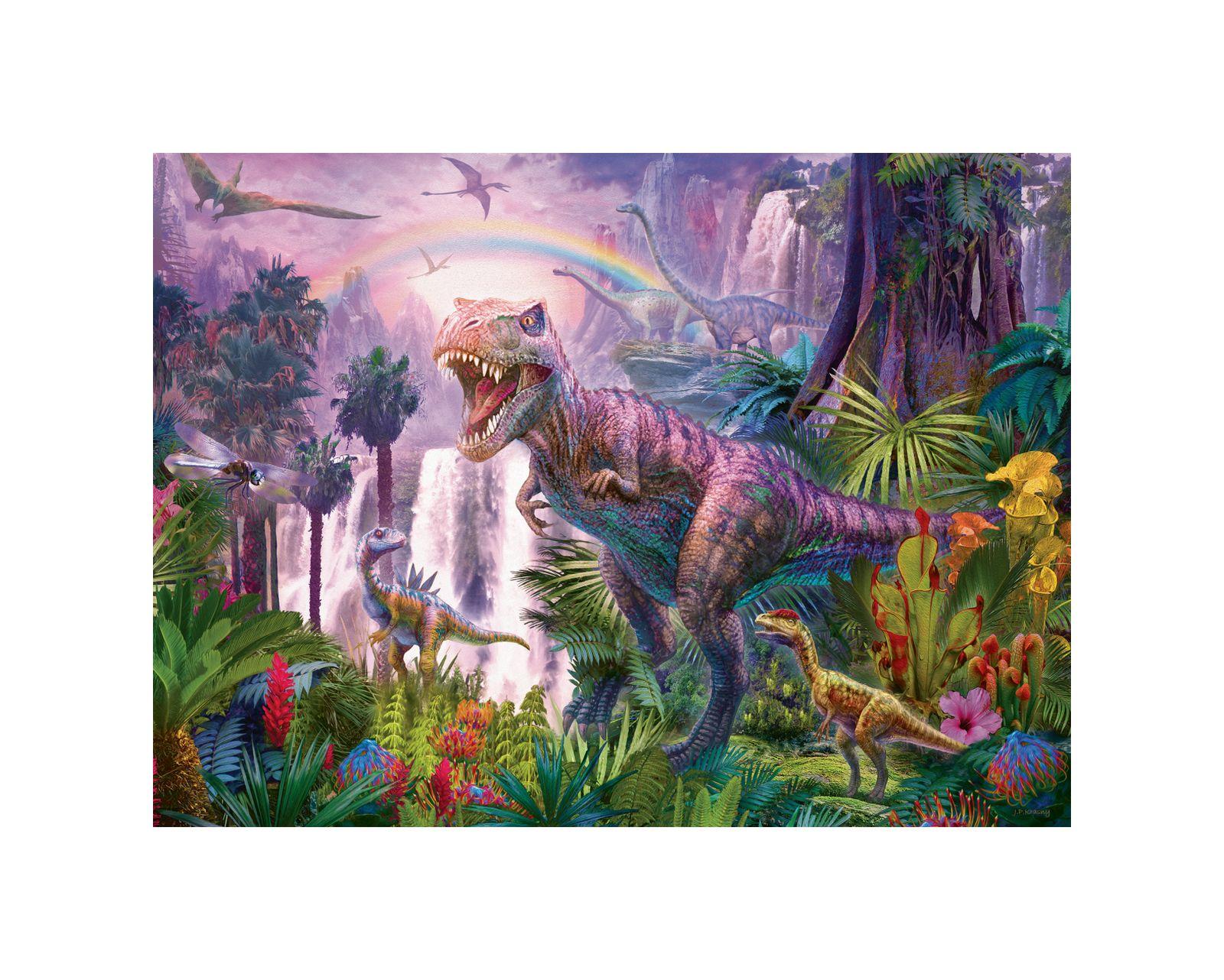 Ravensburger - puzzle 200 pezzi xxl - paese dei dinosauri - Ravensburger1