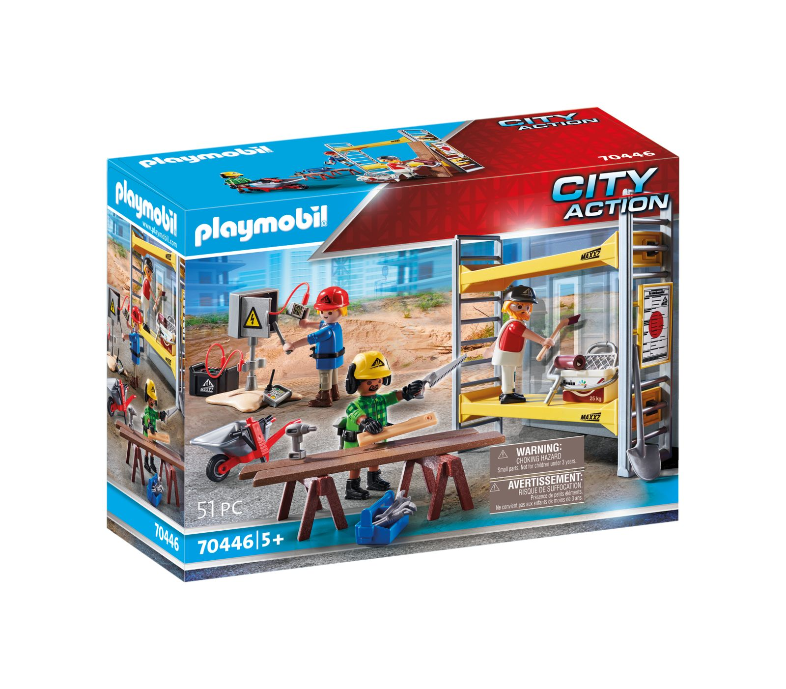 Operai edili al lavoro numero di articolo: 70446 - Playmobil