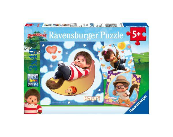 RAVENSBURGER - PUZZLE 3X49 PEZZI - DISNEY MONCHICHI Ravensburger1