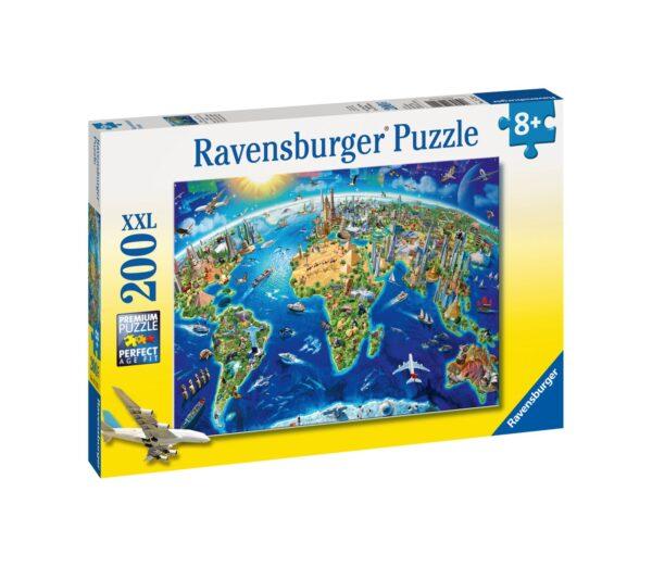 Ravensburger1  RAVENSBURGER - PUZZLE 200 PEZZI XXL - VISTA DALL'ALTO