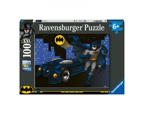 RAVENSBURGER - PUZZLE 100 PEZZI XXL - BATMAN DC COMICS, DC Comics Super Heroes, Ravensburger1