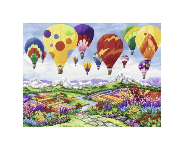 Ravensburger1  RAVENSBURGER PUZZLE 1500 PEZZI SPRING IN THE AIR