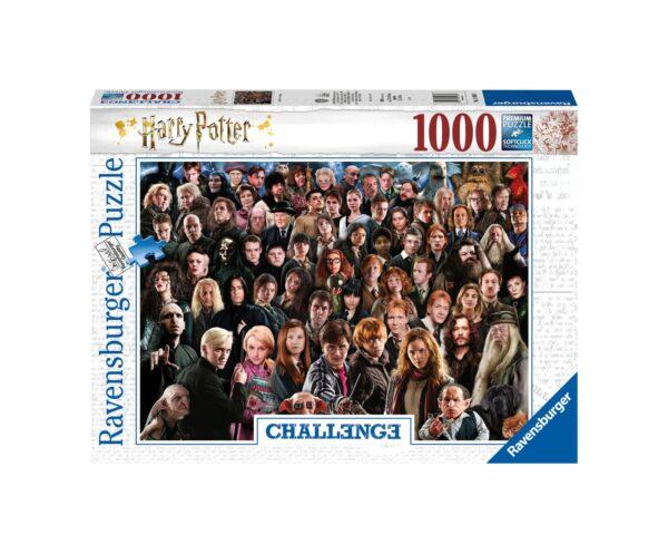 RAVENSBURGER PUZZLE 1000 PEZZI CHALLENGE HARRY POTTER Ravensburger1