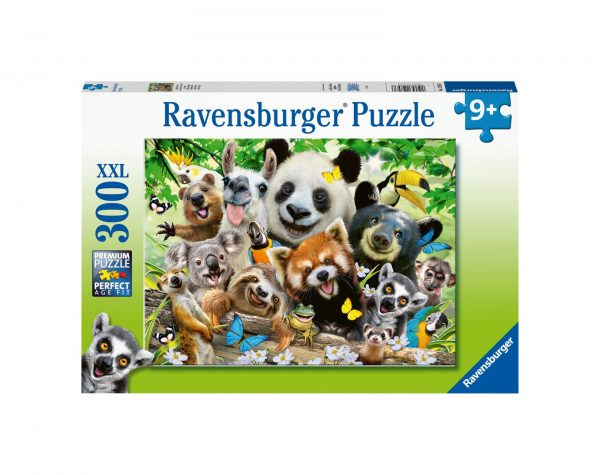 RAVENSBURGER - PUZZLE 300 PEZZI XXL - SELFIE SELVAGGIO Ravensburger1