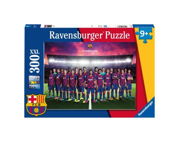 RAVENSBURGER - PUZZLE 300 PEZZI XXL - FC BARCELONA SEASON 2019-2020 Ravensburger1