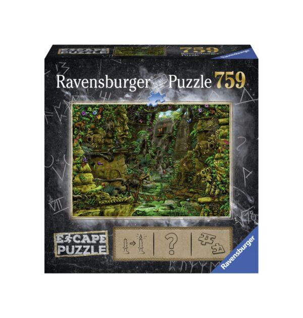 RAVENSBURGER ESCAPE THE PUZZLE - IL TEMPIO Ravensburger1