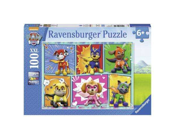 RAVENSBURGER - PUZZLE 100 PEZZI XXL - PAW PATROL Ravensburger1