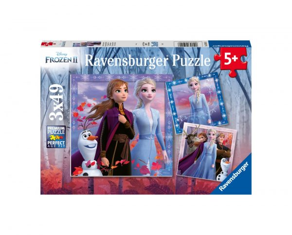 RAVENSBURGER - PUZZLE 3X49 PEZZI - DISNEY FROZEN Ravensburger1
