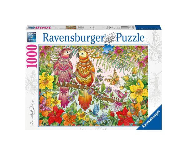RAVENSBURGER PUZZLE 1000 PEZZI ATMOSFERA TROPICALE Ravensburger1