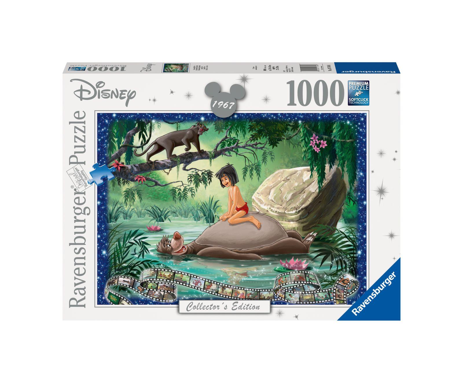 Ravensburger puzzle 1000 pezzi disney il libro della giungla - Ravensburger1