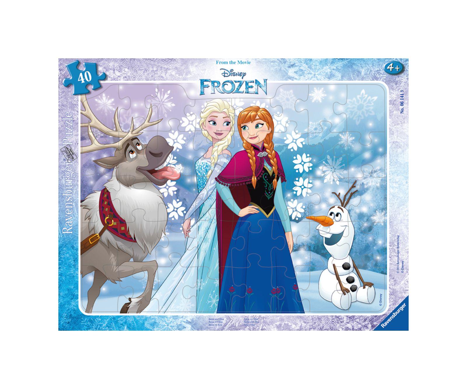 Ravensburger puzzle incorniciato frozen - Ravensburger1