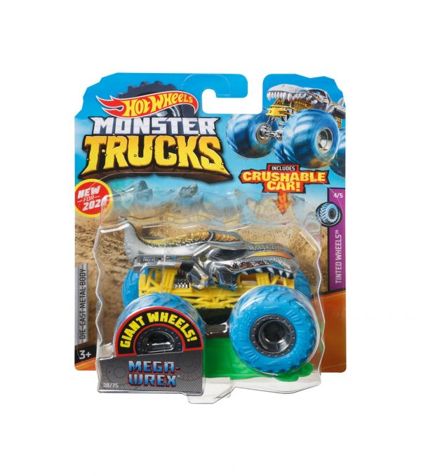HOT WHEELS - MONSTER TRUCK VEICOLO IN SCALA 1:64 , ASSORTIMENTO CASUALE Hot Wheels