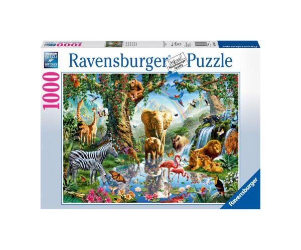 RAVENSBURGER PUZZLE 1000 PEZZI AVVENTURE NELLA GIUNGLA Ravensburger1