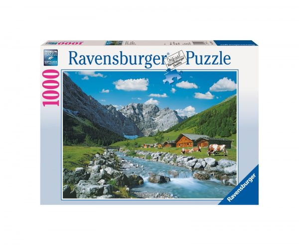 RAVENSBURGER PUZZLE 1000 PEZZI MONTI KARWENDEL, AUSTRIA Ravensburger1
