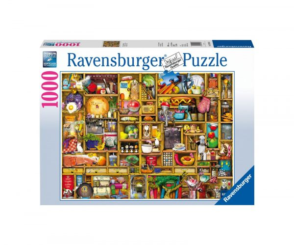RAVENSBURGER PUZZLE 1000 PEZZI CREDENZA Ravensburger1