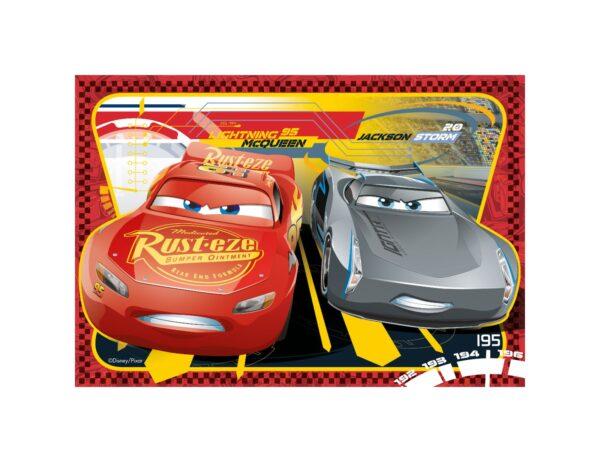 RAVENSBURGER - PUZZLE 2X24 PEZZI - CARS 3 A    Ravensburger1