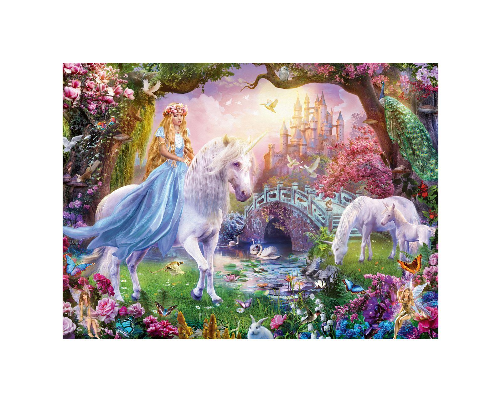 Ravensburger - puzzle 100 pezzi xxl - magical unicorns - Ravensburger1