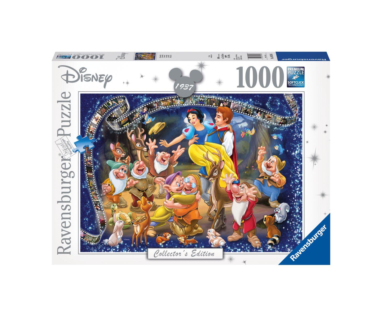 Ravensburger puzzle 1000 pezzi biancaneve disney - Ravensburger1