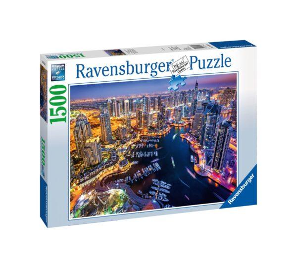 RAVENSBURGER PUZZLE 1500 PEZZI DUBAI NEL GOLFO PERSICO Ravensburger1