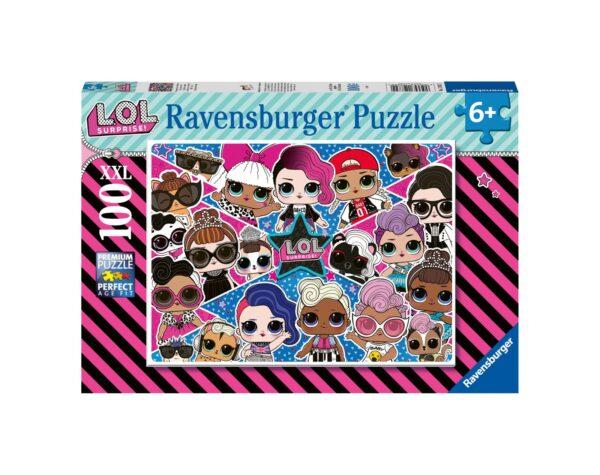 RAVENSBURGER - PUZZLE 100 PEZZI XXL - L.O.L.    Ravensburger1
