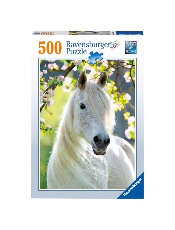 RAVENSBURGER - PUZZLE 500 PEZZI - PRIMAVERA EQUESTRE Ravensburger1