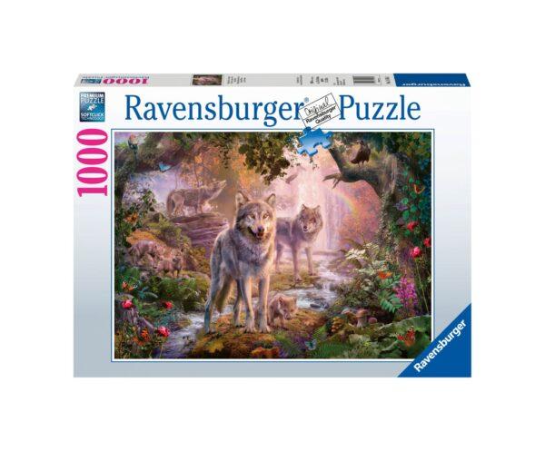 RAVENSBURGER PUZZLE 1000 PEZZI LUPI Ravensburger1