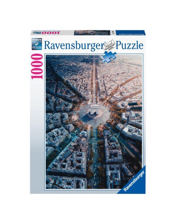 RAVENSBURGER PUZZLE 1000 PEZZI  PARIGI Ravensburger1