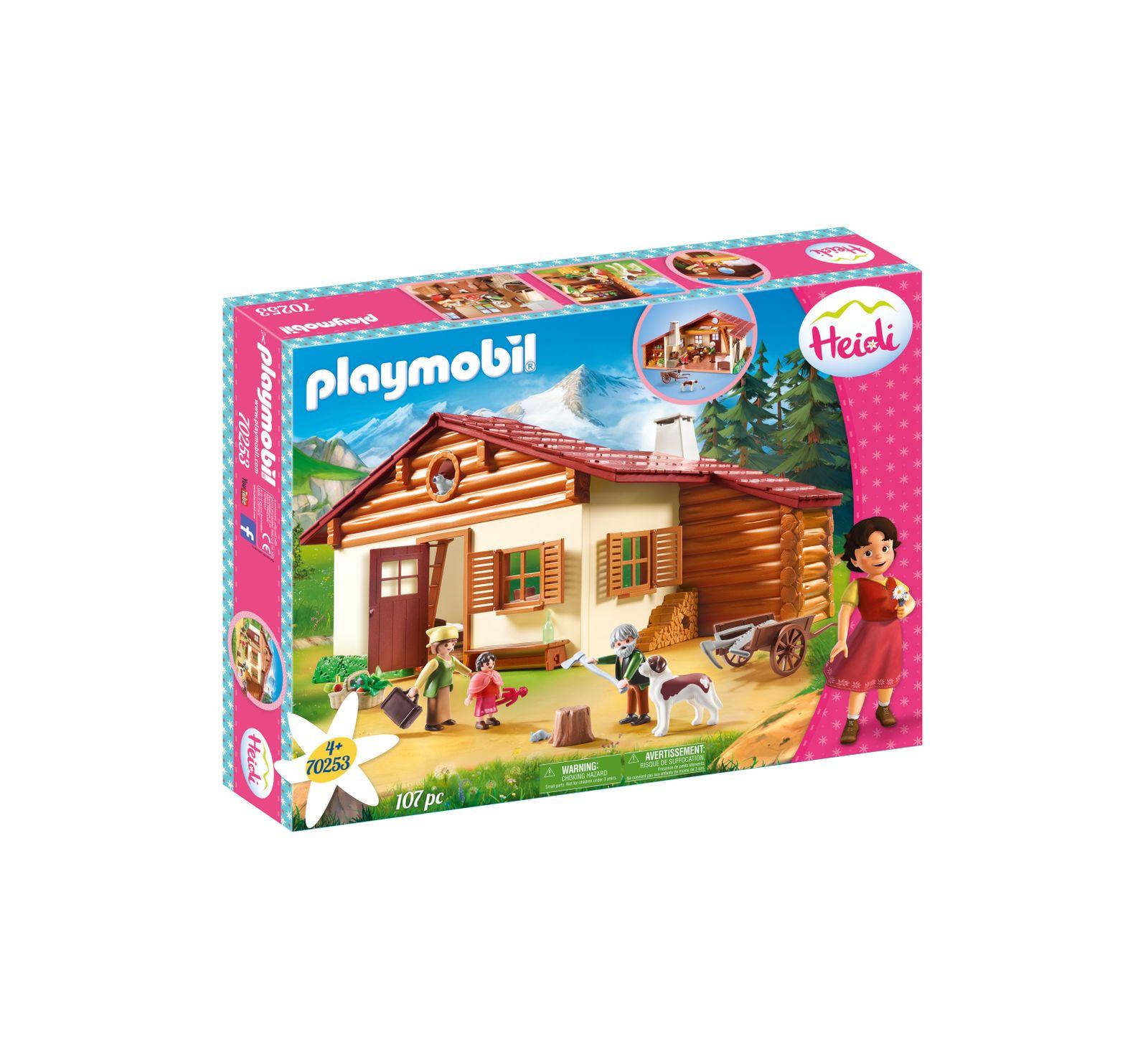 La baita del nonno di heidi - Playmobil