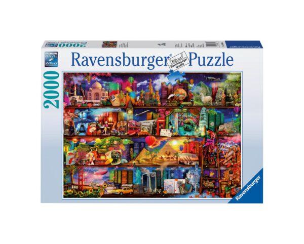 RAVENSBURGER PUZZLE 2000 PEZZI MIRACOLOSO MONDO DEI LIBRI Ravensburger1