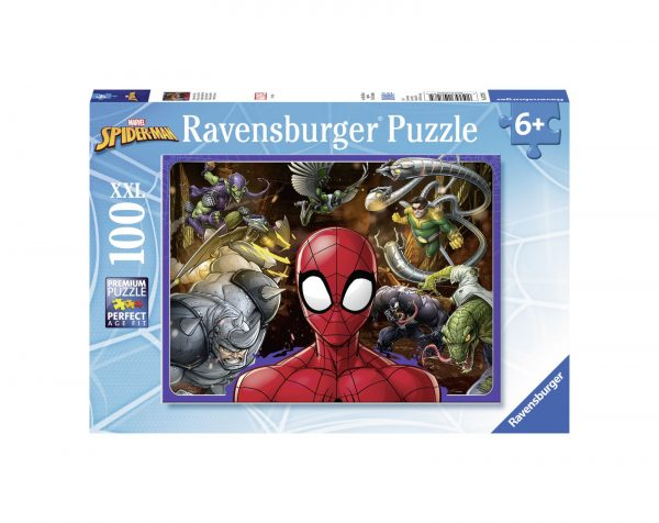 RAVENSBURGER - PUZZLE 100 PEZZI XXL - SPIDERMAN Ravensburger1