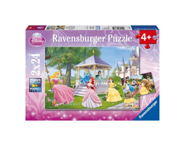 RAVENSBURGER - PUZZLE 2X24 PEZZI - PRINCIPESSE DISNEY Ravensburger1