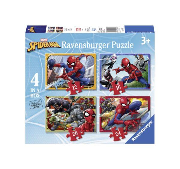 RAVENSBURGER - 4 IN A BOX - SPIDERMAN Ravensburger1