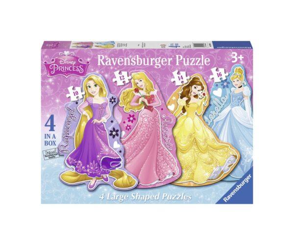 RAVENSBURGER - 4 IN A BOX - DISNEY PRINCESS Ravensburger1