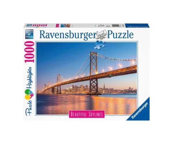 RAVENSBURGER PUZZLE 1000 SAN FRANCISCO Ravensburger1