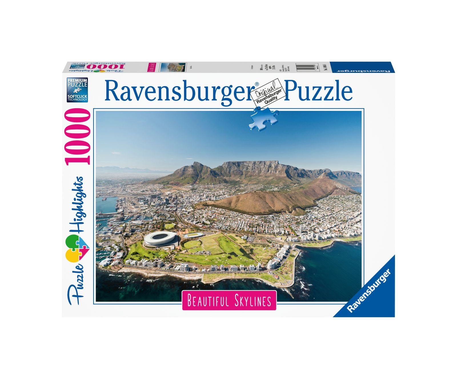 Ravensburger puzzle 1000 pezzi cape town - Ravensburger1