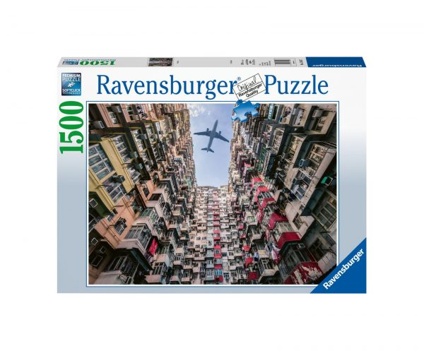 RAVENSBURGER PUZZLE 1500 PEZZI HONG KONG Ravensburger1