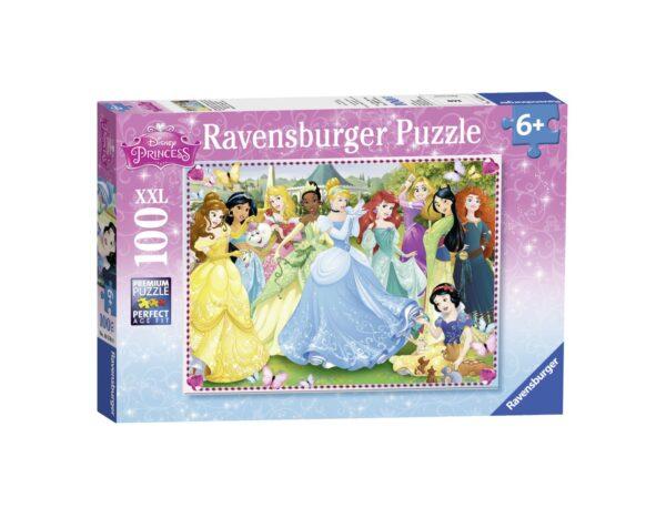 RAVENSBURGER - PUZZLE 100 PEZZI XXL - PRINCIPESSE DISNEY A Ravensburger1