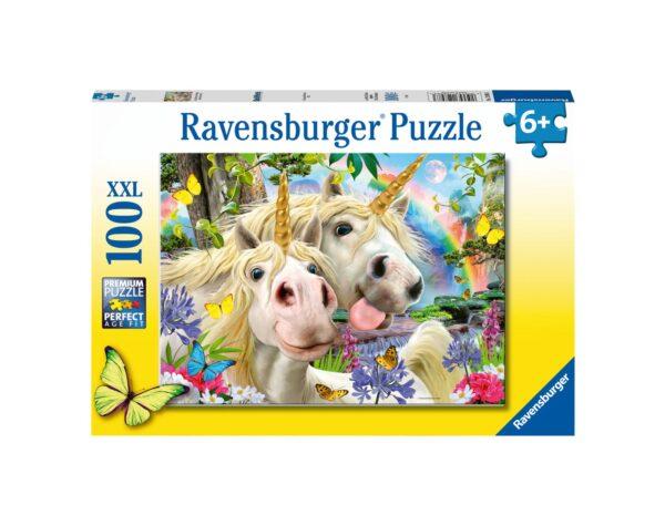RAVENSBURGER - PUZZLE 100 PEZZI XXL - DON'T WORRY, BE HAPPY Ravensburger1