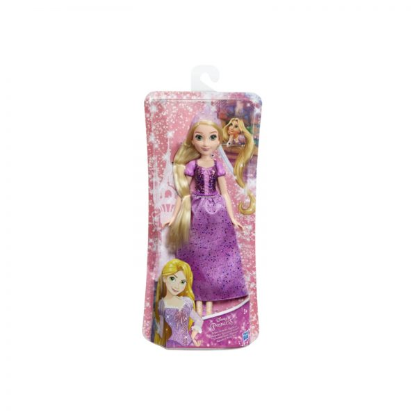 DISNEY PRINCESS - RAPUNZEL (FASHION DOLL) CON GONNA SCINTILLANTE, DIADEMA E SCARPE    DISNEY PRINCESS