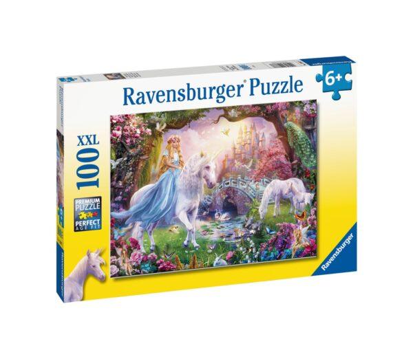Ravensburger1  RAVENSBURGER - PUZZLE 100 PEZZI XXL - MAGICAL UNICORNS