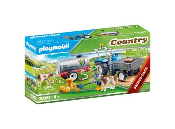 TRATTORE CON SERBATOIO D'ACQUA Playmobil