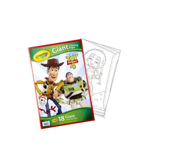CRAYOLA - Maxi pagine da colorare Toy Story 4