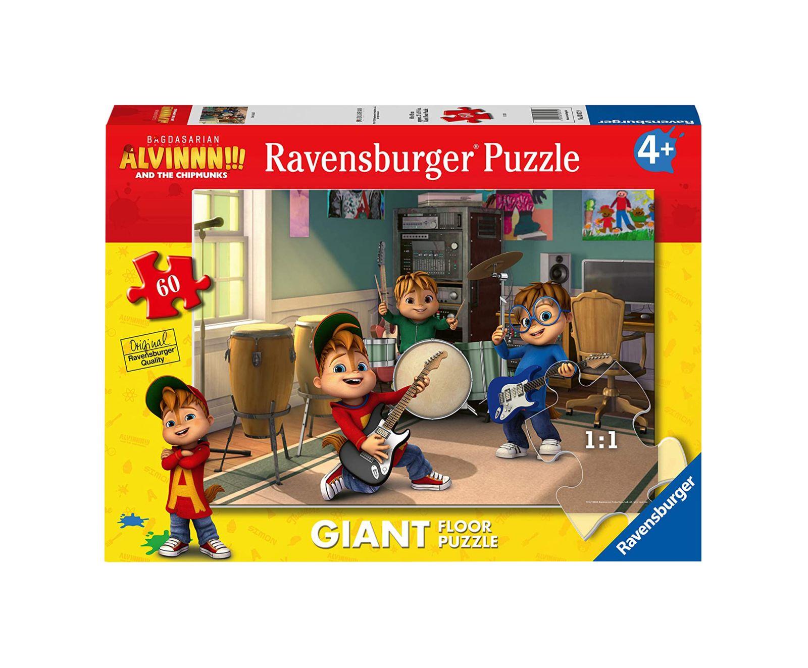 Ravensburger puzzle 60 pezzi giant alvin - Ravensburger1