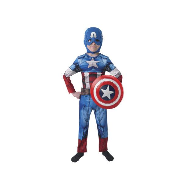 COSTUME CAPITAN AMERICA BAMBINI L Avengers