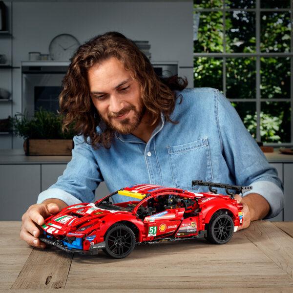 "FERRARI, TECHNIC LEGO Technic Ferrari 488 GTE ""AF Corse #51"" - 42125"