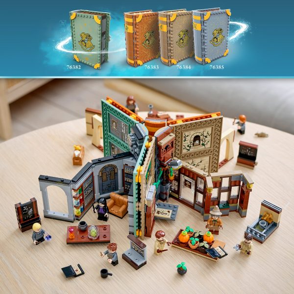 LEGO Harry Potter Lezione di pozioni a Hogwarts - 76383   Harry Potter